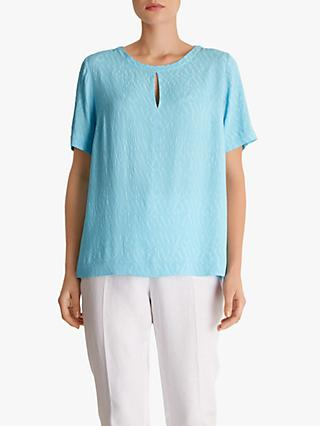 Fenn Wright Manson Java Short Sleeve Shirt, Turquoise