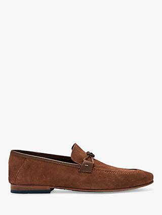 Ted Baker Siblac Suede Loafers, Tan