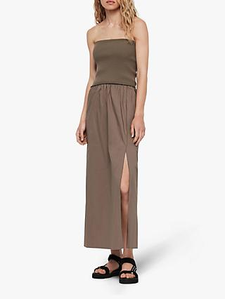 AllSaints Sono Maxi Dress, Khaki