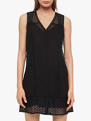 AllSaints Manie Lace Dress, Black