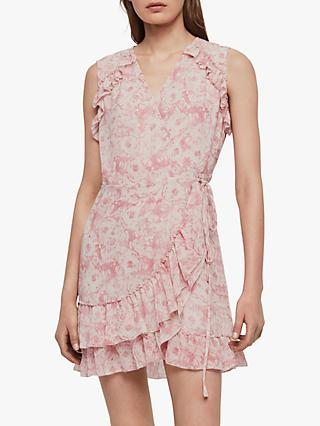 AllSaints Priya Rose Dress, Pink