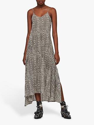 10f9acf7f49 AllSaints Essie Leopard Cotton Dress