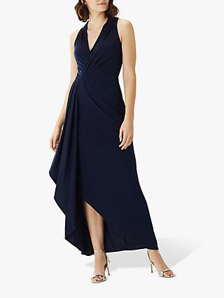 8bd923eb2d3 Coast Kade Lace Back Asymmetric Hem Maxi Dress