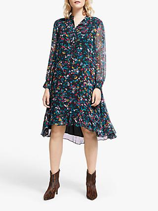 AND/OR Fifi Abstract Animal Print Dress, Multi