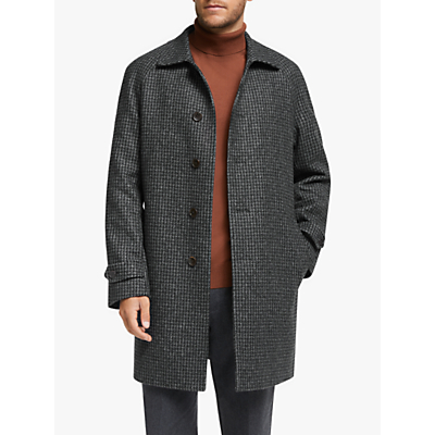 John Lewis & Partners Houndstooth Tailored Coat