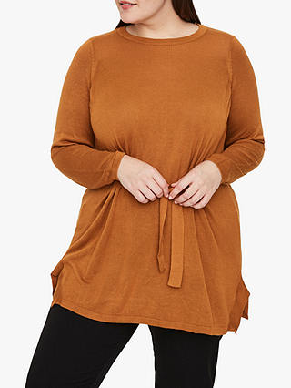 Buy I.Scenery Curve Imili Knit Tunic Top, Meercat, 26-28 Online at johnlewis.com