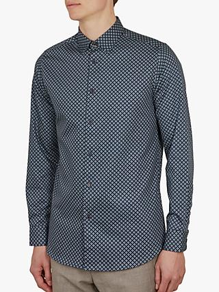 a0b8f4d28 Ted Baker Whaale Bold Geometric Print Shirt