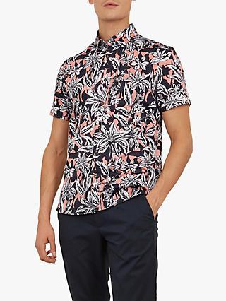 5842f3b9d09f Ted Baker Octapss Floral Print Shirt