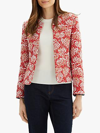 Jaeger Embroidered Jacket, Red/Multi