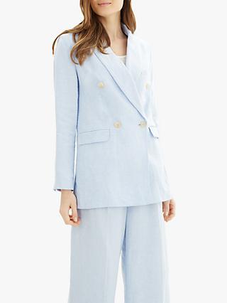 40a5f07183 Jaeger Linen Suit Blazer Jacket