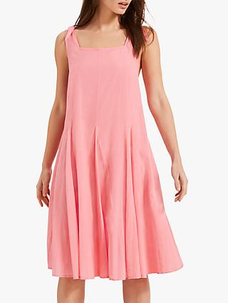 Phase Eight Callie Cotton Blend Dress, Pink