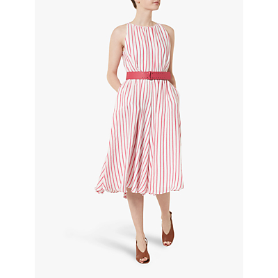 Helen McAlinden Ava Stripe Dress, Pink
