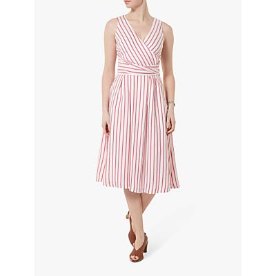 Helen McAlinden Iris Stripe Dress, Pink