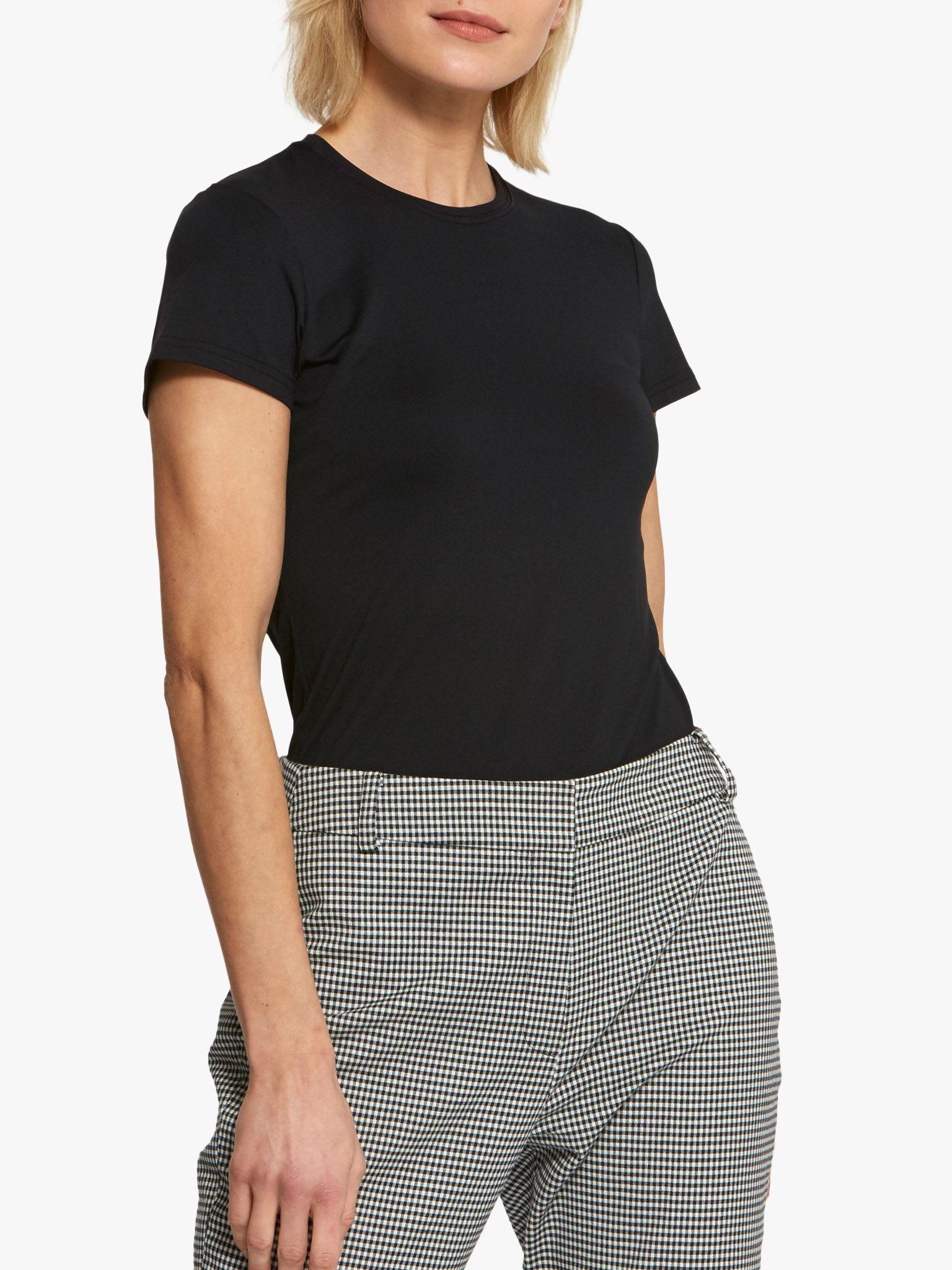 Helen McAlinden Helen McAlinden Round Neck Short Sleeve T-Shirt, Black