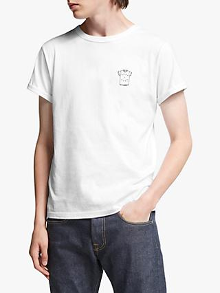 Maison Labiche Best T Ever Embroidered T-Shirt, White