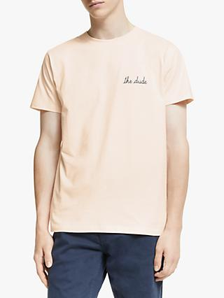 Maison Labiche The Dude T-Shirt, Soft Pink