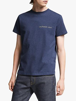 Maison Labiche California Love T-Shirt, Blue