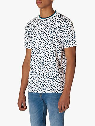 PS Paul Smith Brushstroke Print T-Shirt, White