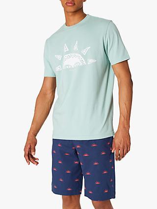 5bba4e1863 PS Paul Smith Half Sun Print T-Shirt, Green