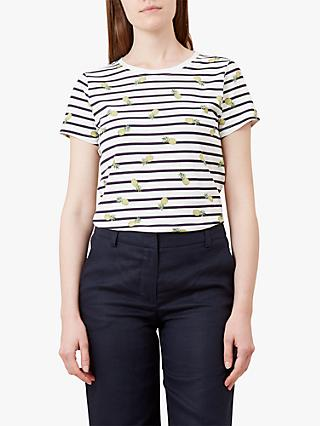599b943552569 Hobbs Pixie Stripe Pineapple T-Shirt
