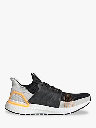adidas UltraBOOST 19 Men's Running Shoes, Trace Cargo/Raw White/Solar Red