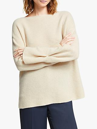 Modern Rarity Pleat Sleeve Cashmere Jumper