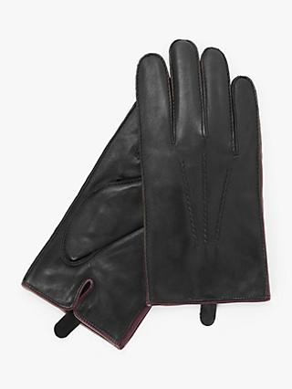 John Lewis & Partners Cashmere Lined Leather Gloves