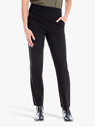 Max Studio Stretch Trousers, Black