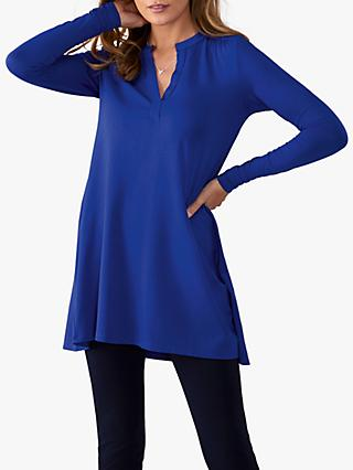 Pure Collection Jersey Swing Tunic Top