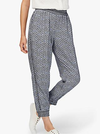 Brora Graphic Jogger Trousers, Ink