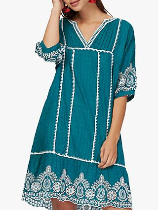 4ec05a4eed2 Brora Embroidered Summer Kaftan Dress