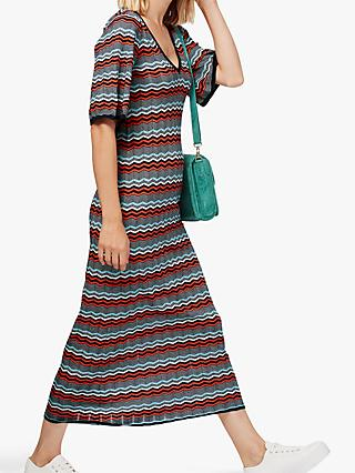 Brora Wave Knitted Maxi Dress