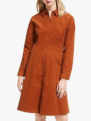 Y.A.S Yasordy Cord Shirt Dress, Picante