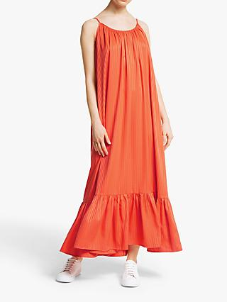 Y.A.S Leora Srap Maxi Dress, Orange