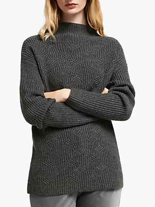 John Lewis & Partners Transfer Rib Sweater