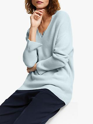 Modern Rarity Links V-Neck Jumper, Blue