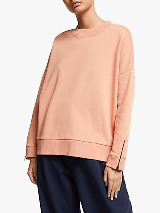 Kin Turtle Neck Zip Detail Sweatshirt