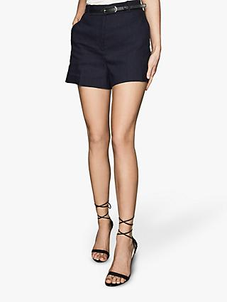 Reiss Belle Shorts, Indigo