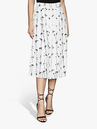 Reiss Leona Skirt, White
