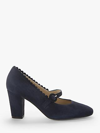 John Lewis & Partners Airis Suede Mary Jane Court Shoes