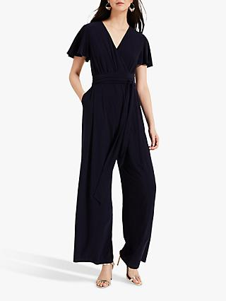 Phase Eight Andrea Jersey Jumpsuit, Navy