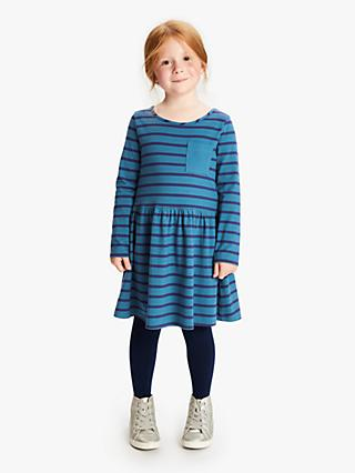 John Lewis & Partners Girls' Stripe Dress