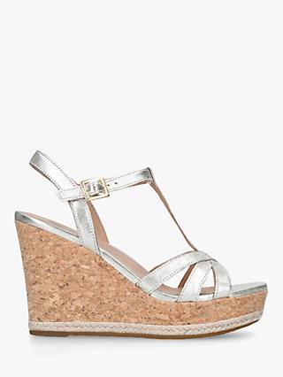 502478fc161 UGG Melissa Metallic Leather Wedge Sandals