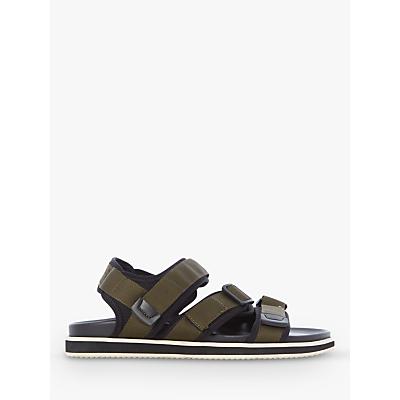 Bertie I 400 Fabric Sandals, Green