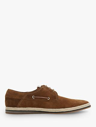 6e7169b7f8f Dune Bollinger Suede Boat Shoes