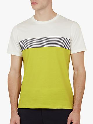 fc90cce0a Ted Baker Wabadoo Stripe Cotton T-Shirt