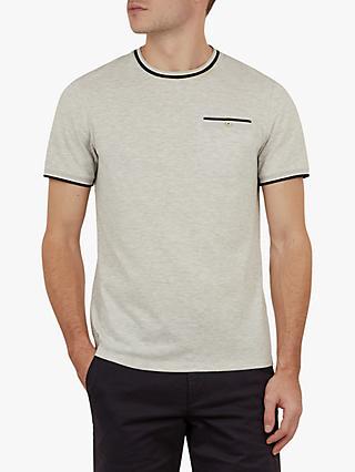 742e28936 Ted Baker Tramtop High Summer Textured Crew T-Shirt