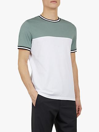 97d44b7e6f8a Ted Baker Silva Colour Block Short Sleeve T-Shirt