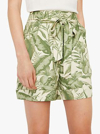 ff051834f03 Warehouse Tropical Parrot Shorts