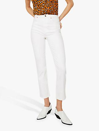 Warehouse Slim Cut Jeans, White